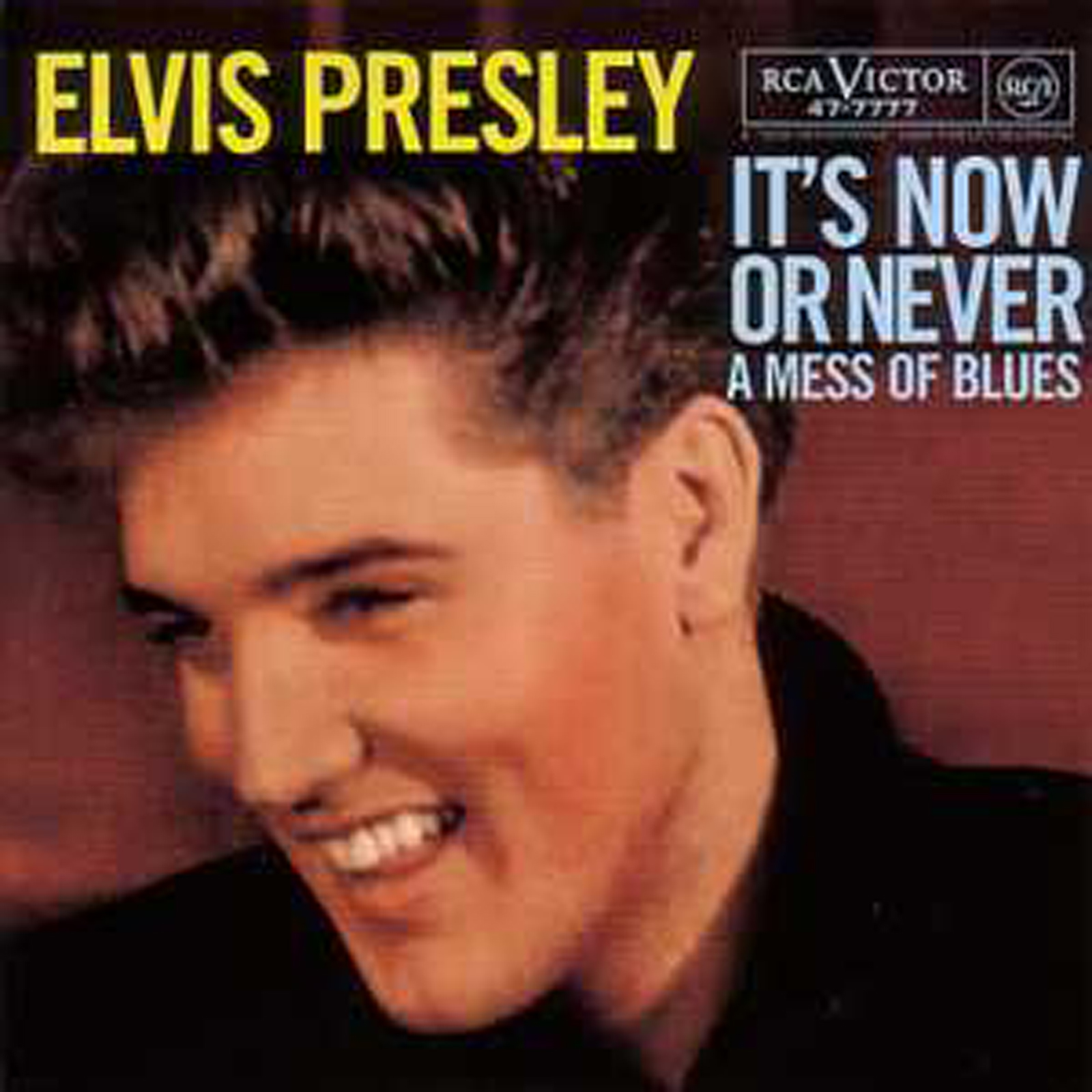 Elvis PRESLEY - It's Now Or Never 3-track Card Sleeve