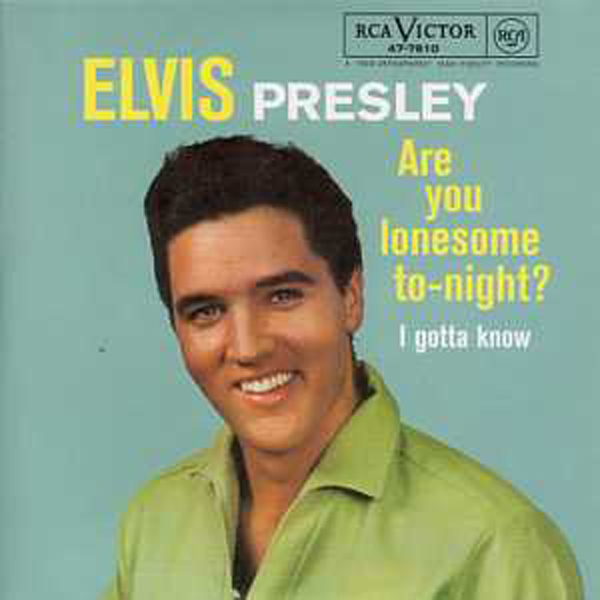 Elvis PRESLEY - Are You Lonesome Tonight 3-track Card Sleeve