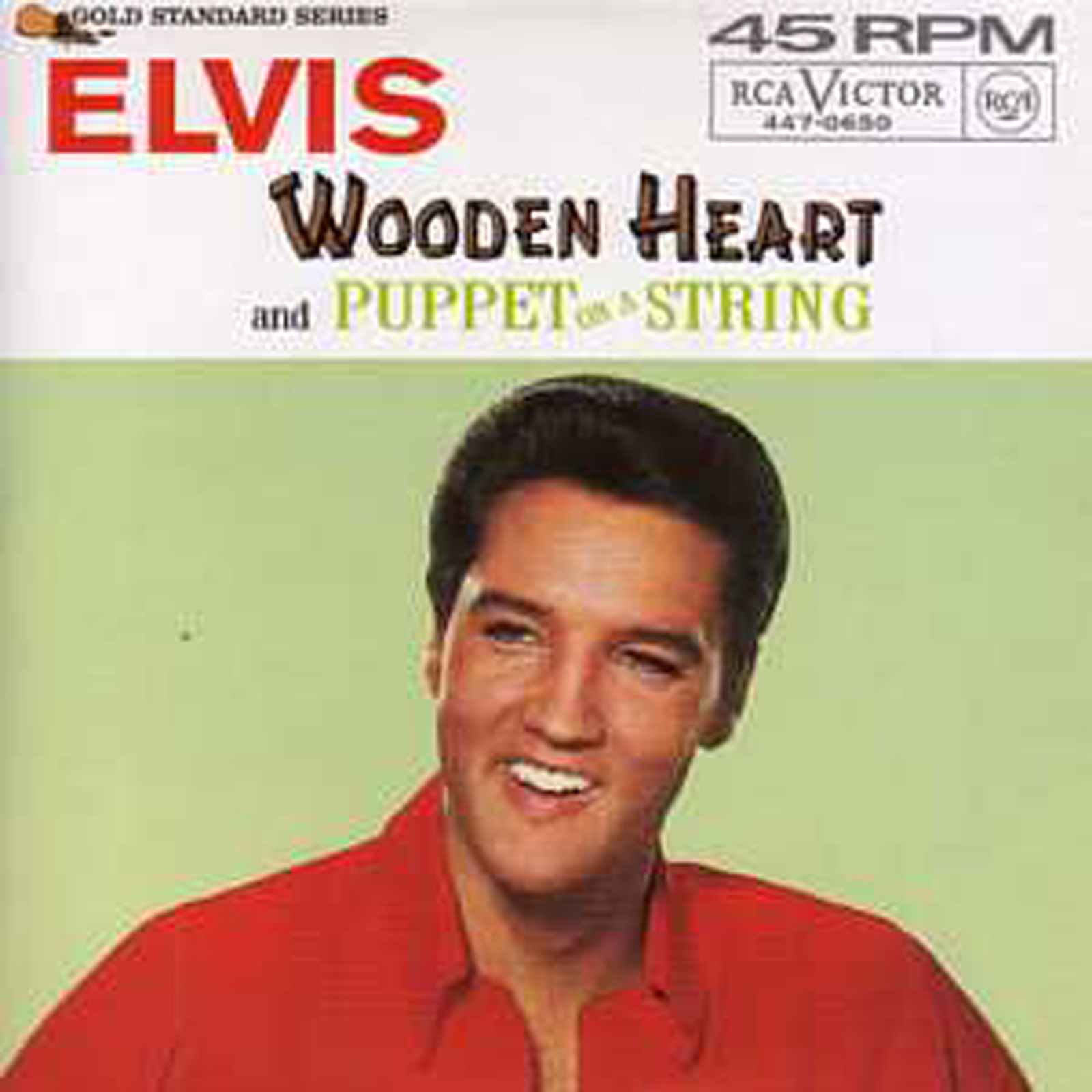 Elvis PRESLEY - Wooden Heart 3-track Card Sleeve