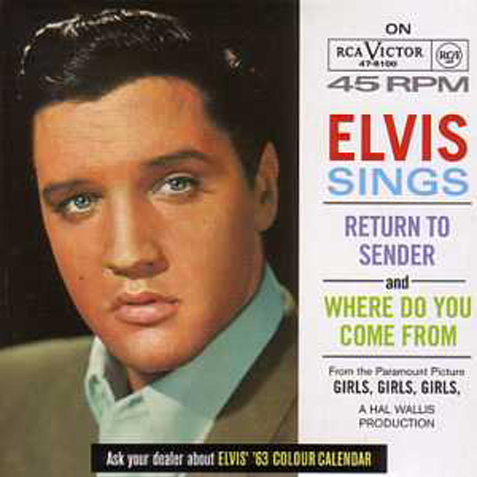 Elvis PRESLEY - Sings 3-track Card Sleeve