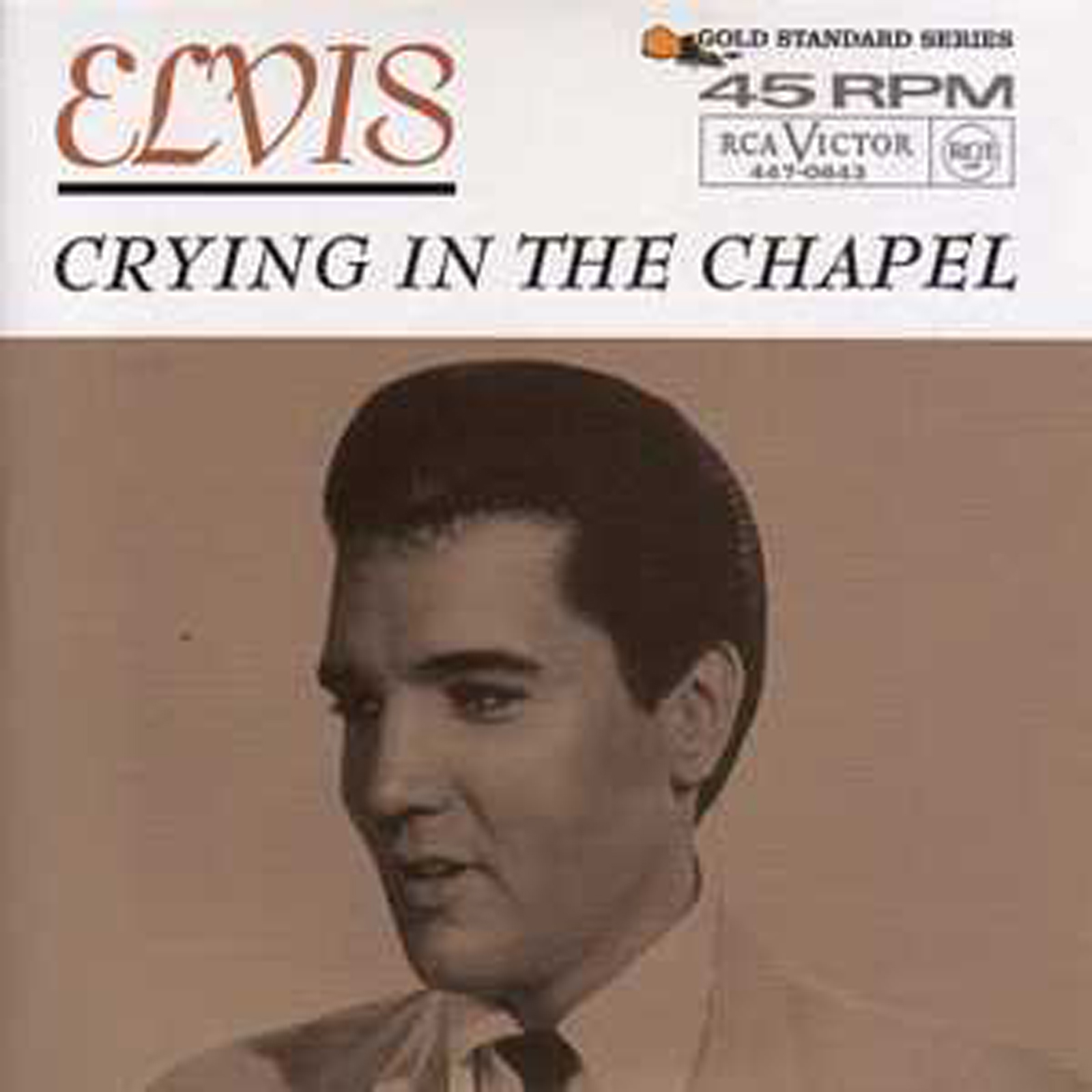 Elvis PRESLEY - Crying In The Chapel 3-track Card Sleeve