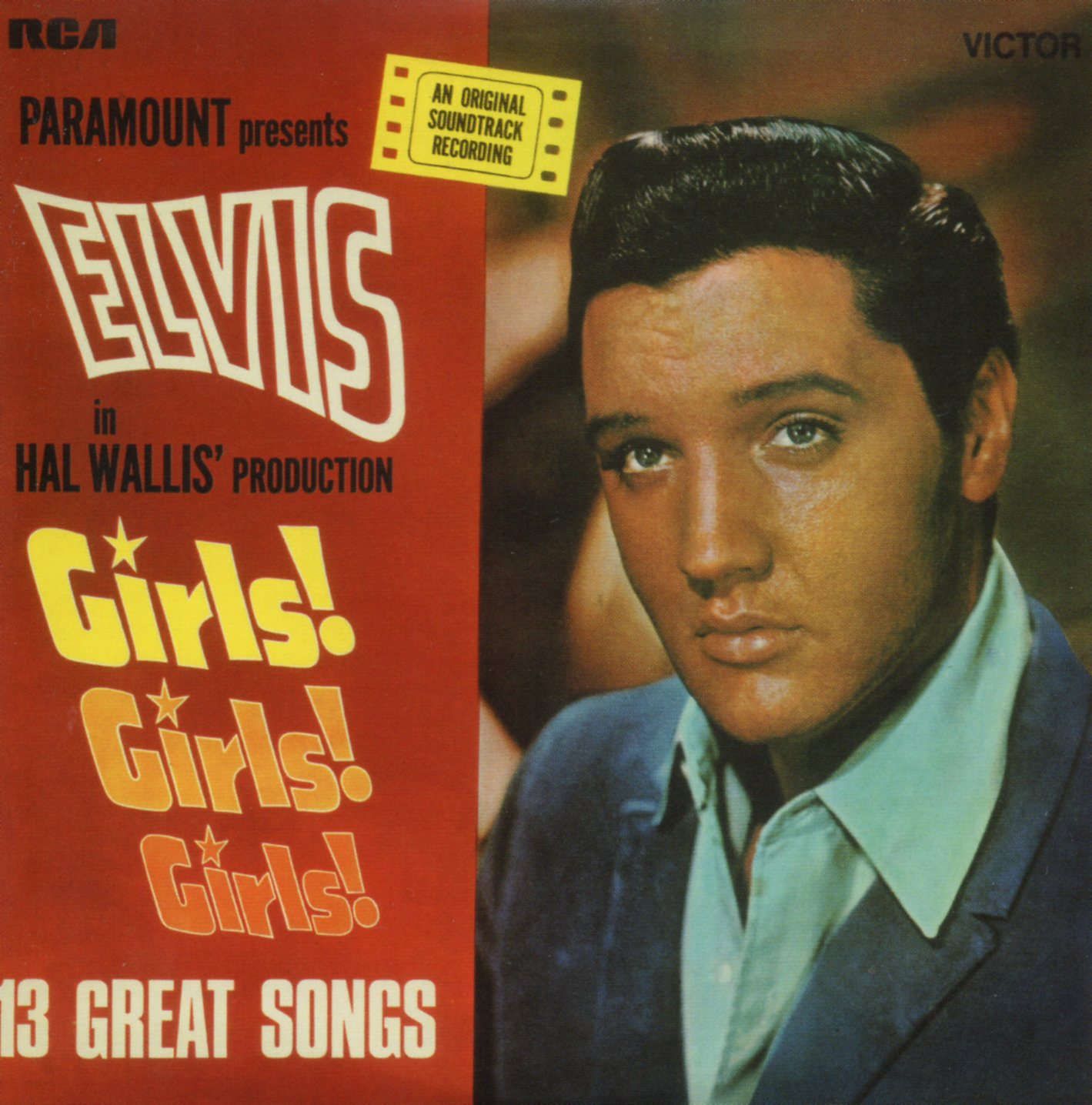 ELVIS PRESLEY - Girls Girls Girls - Mini Lp - 13-track CARD SLEEVE - CD