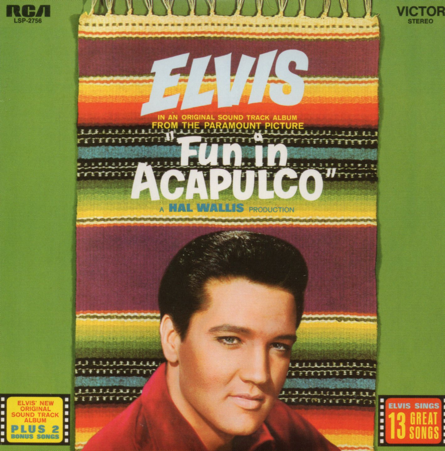 ELVIS PRESLEY - Fun in Acalpulco - Mini Lp - 13-track CARD SLEEVE - CD