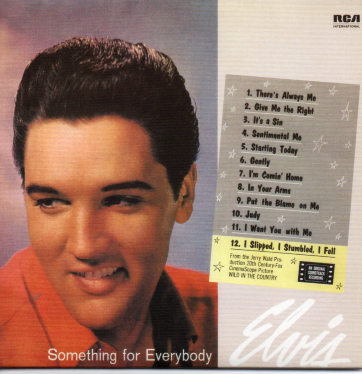 Resultado de imagem para elvis presley something for everybody