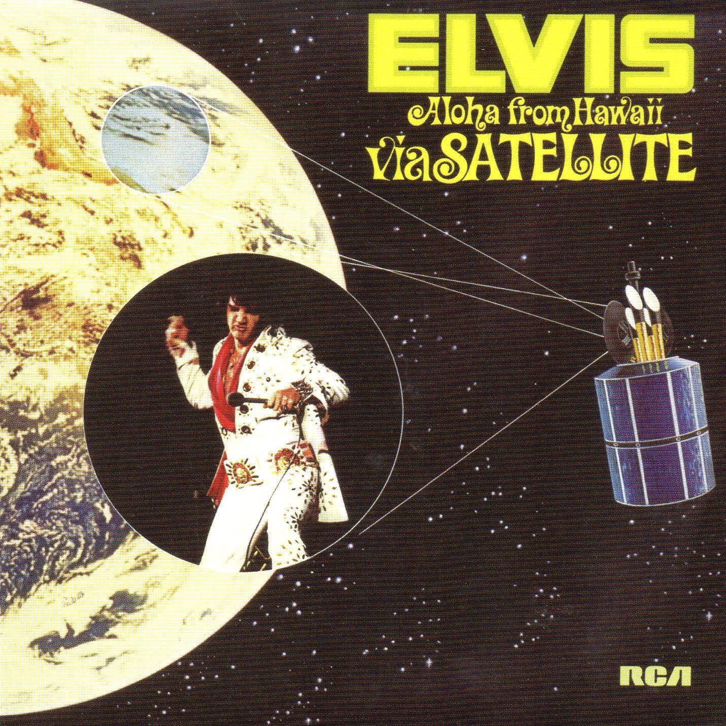 Elvis PRESLEY - Aloha From Hawaii Via Satellite (1973 - Mini Lp Replica - 24-track Card Sleeve)