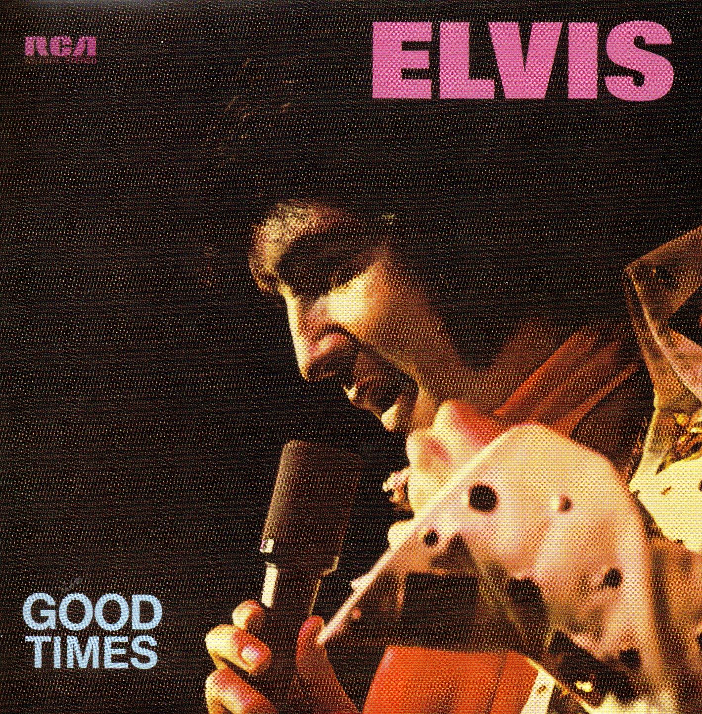 ELVIS PRESLEY - Good Times  (1974) - Mini LP REPLICA - 10-track CARD SLEEVE - CD