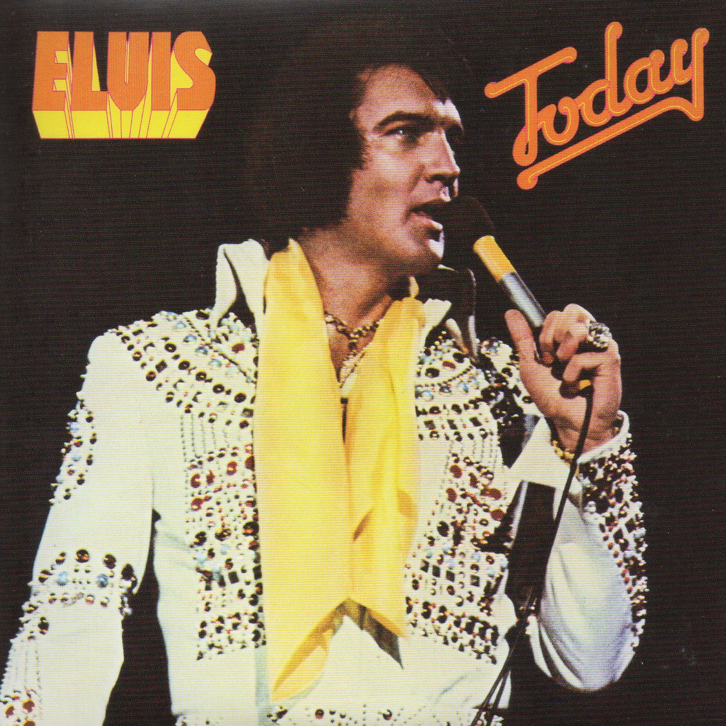 Today (1975 - Mini Lp Replica - 10-track Card Sleeve) - Elvis PRESLEY