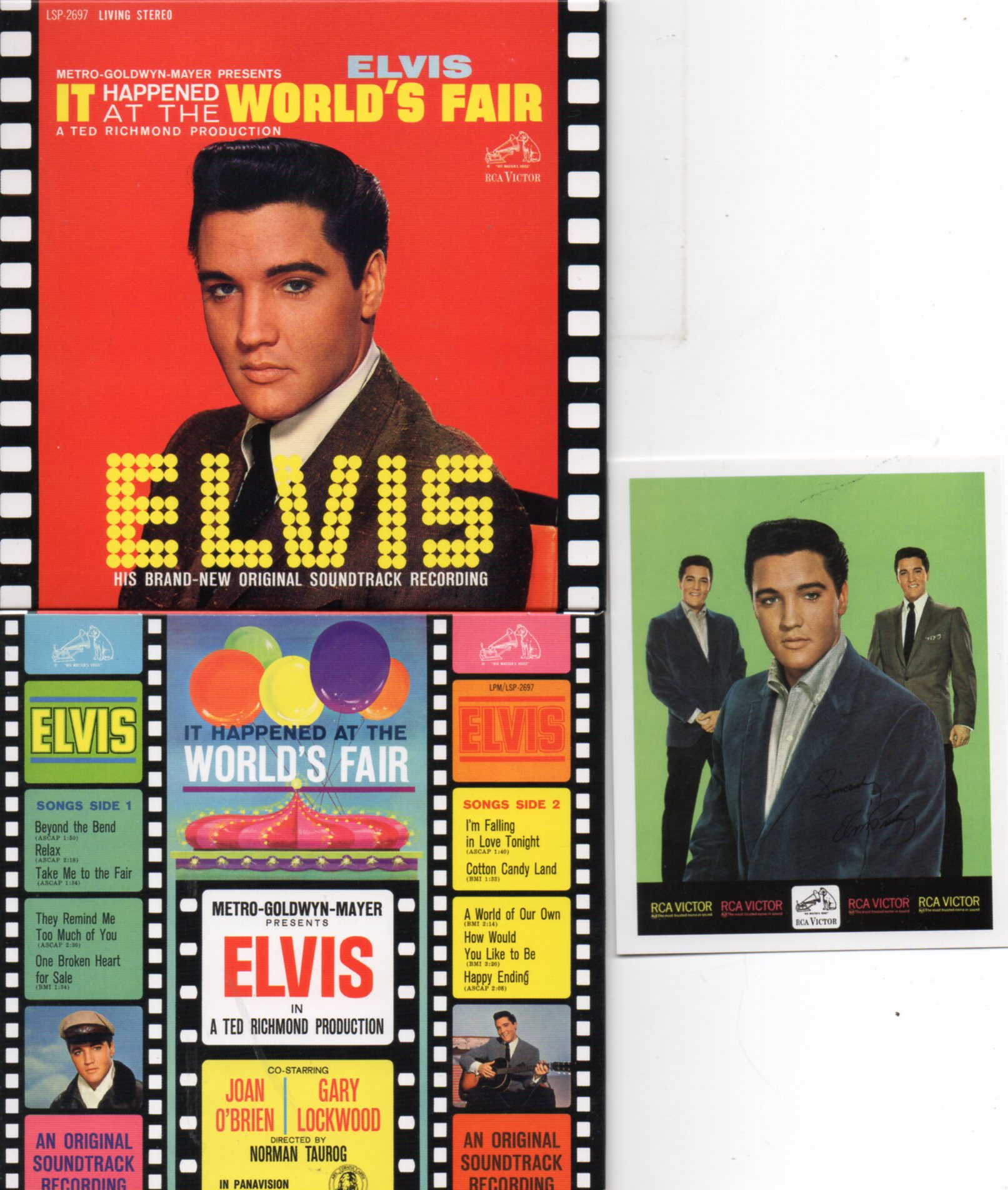 Elvis PRESLEY - It Happened At The World's Fair (1963 - Mini Lp Replica - 10-track Card Sleeve Including Card Replic