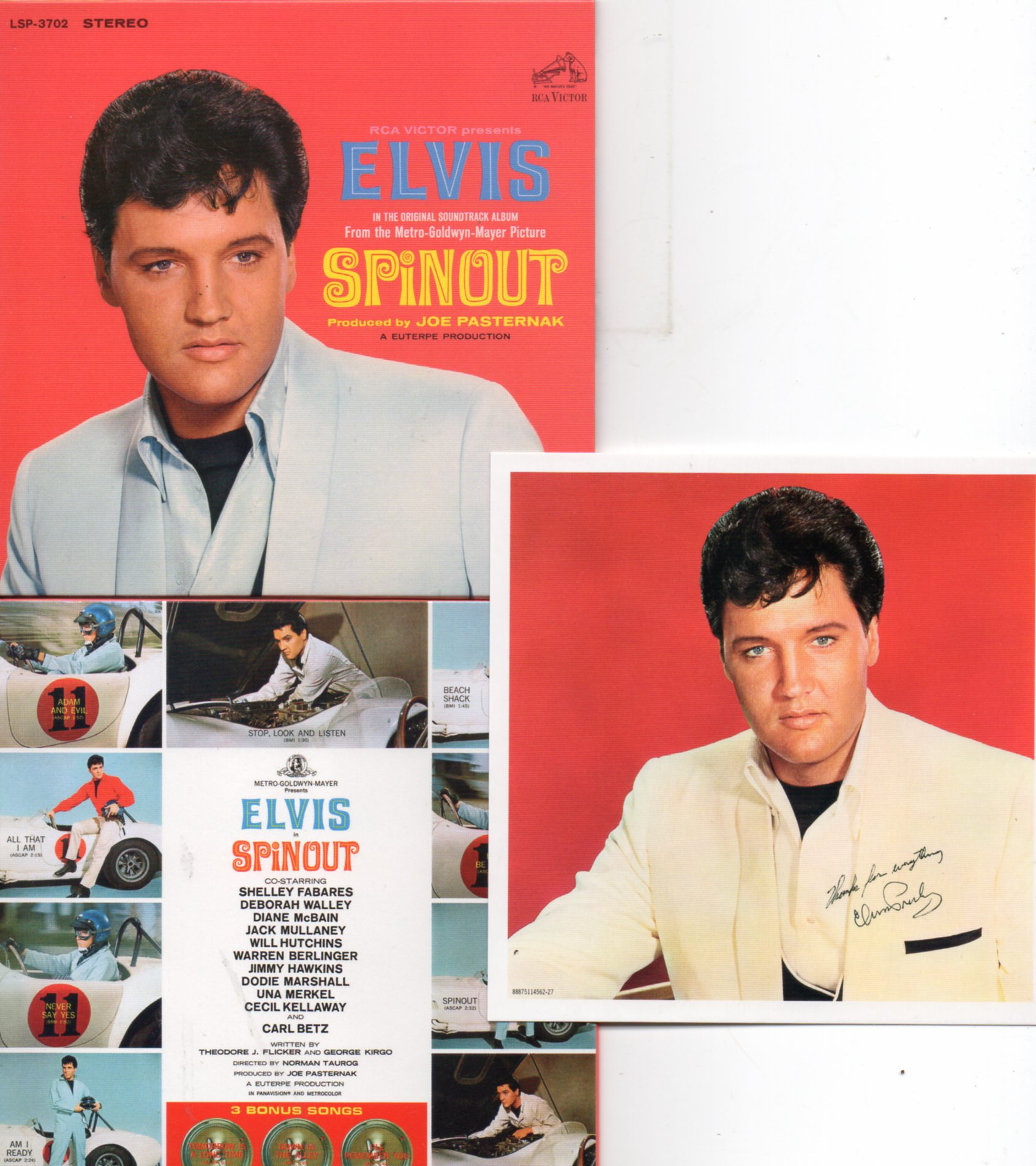 Elvis PRESLEY - Spinout (1966 - Mini Lp Replica - 12-track Card Sleeve)
