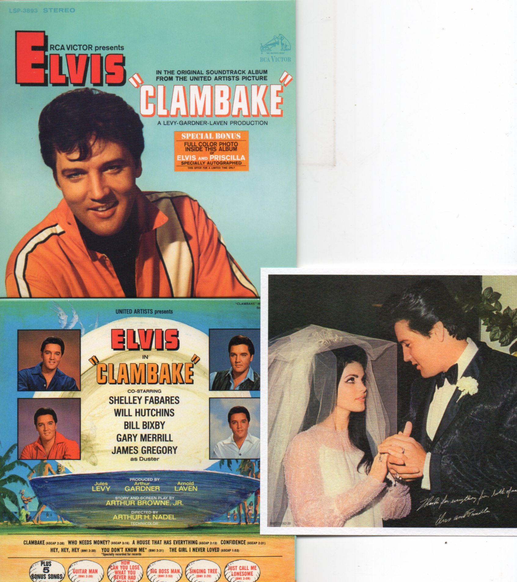 Elvis PRESLEY - Clambake (1967 - Mini Lp Replica - 13-track Card Sleeve Including Card)