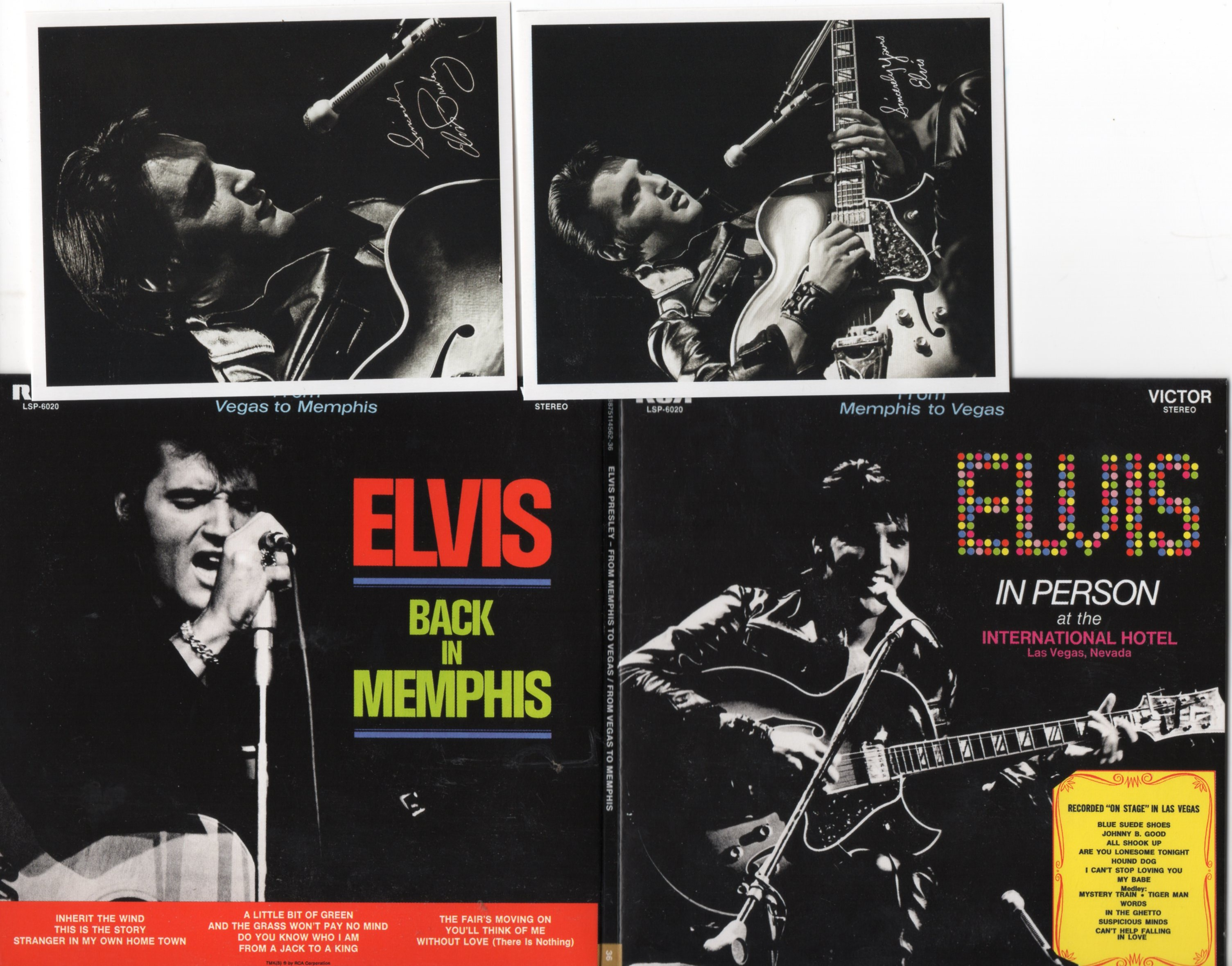 Elvis PRESLEY - From Memphis To Vegas / From Vegas To Memphis (1969 - Mini Lp Replica Gatefold - 22-track Card Sleev
