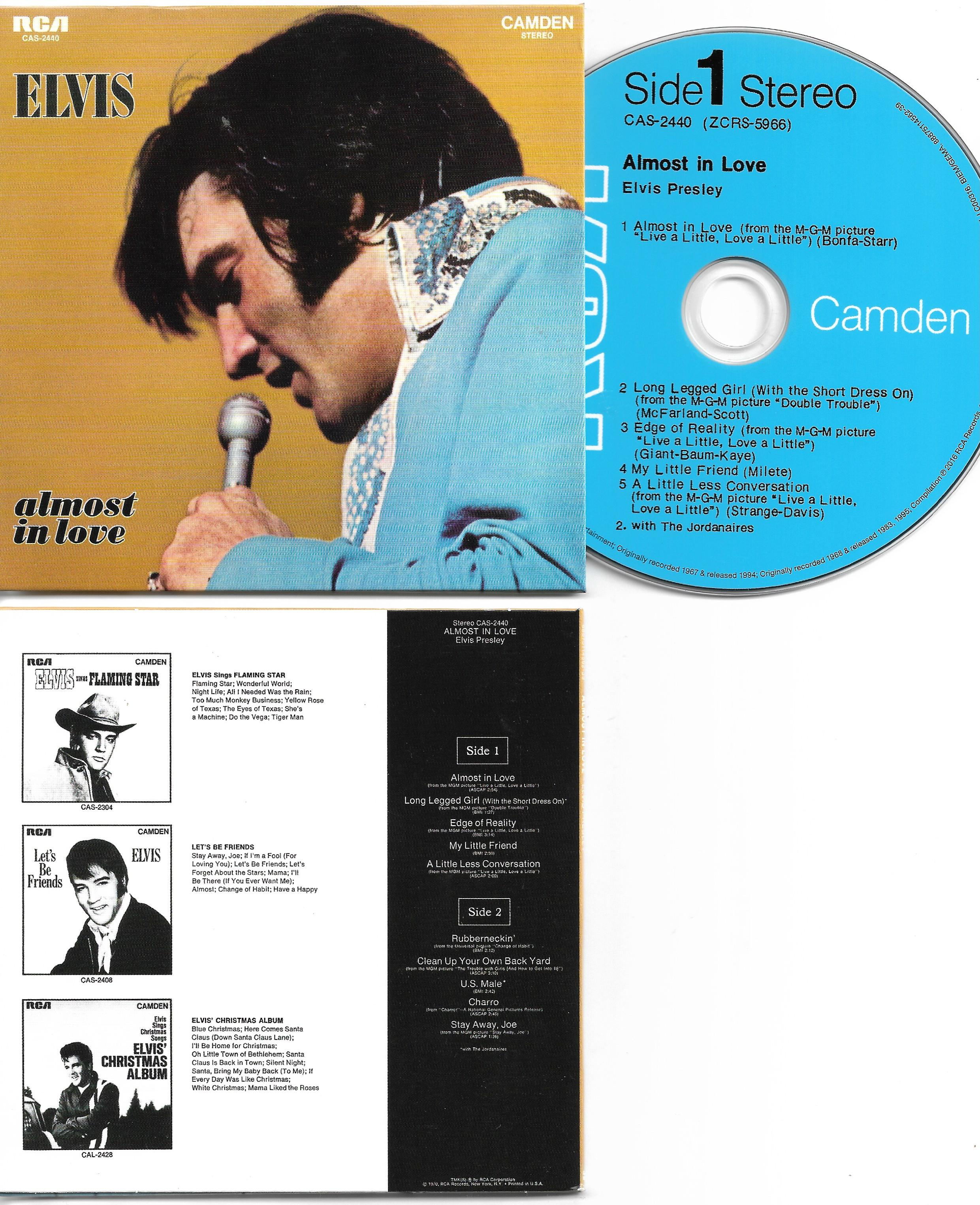 almost in love 1970 mini lp replica 13 track card sleeve by