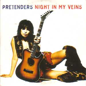 PRETENDERS - Night In My Veins 2 Tracks Card Sleeve