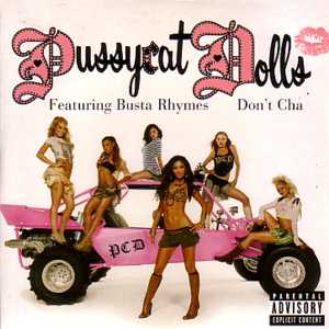PUSSYCAT DOLLS - Don't Cha Card Sleeve 2-track
