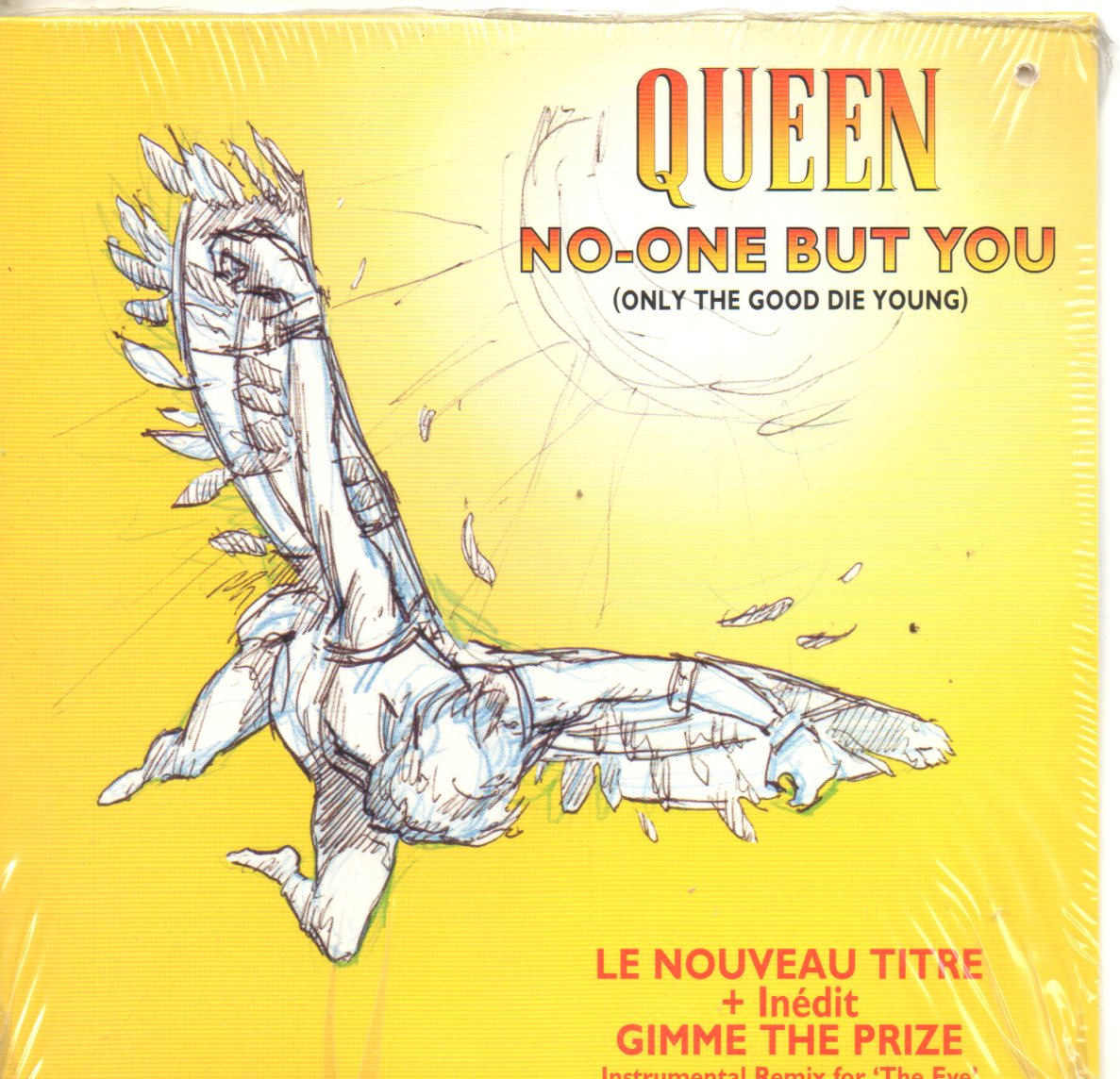 Heaven For Everyone 2-track Card Sleeve - QUEEN