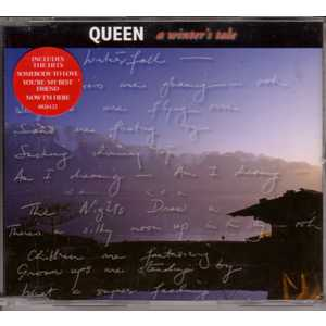 QUEEN - A Winter's Tale 4 Tracks Jewel Case Sticker