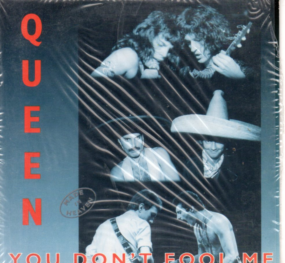 You Don't Fool Me 2-track Card Sleeve - QUEEN