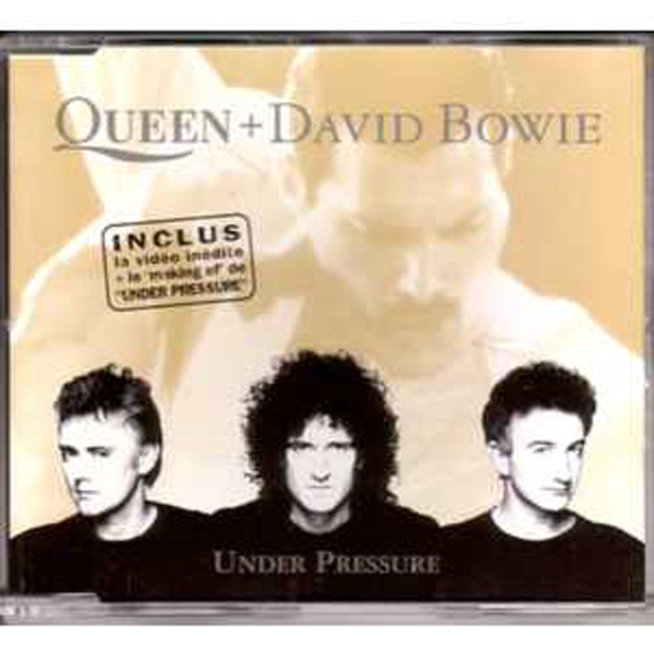 Queen & David Bowie - Under Pressure 3 Tracks Jewel Case