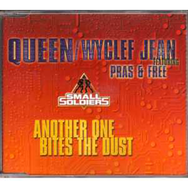 Queen &amp; Wycled Jean - Another One Bites The Dust 3 Tracks Jewel Case