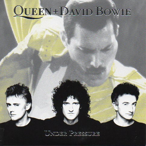 QUEEN & David BOWIE - Under Pressure 3-track Card Sleeve