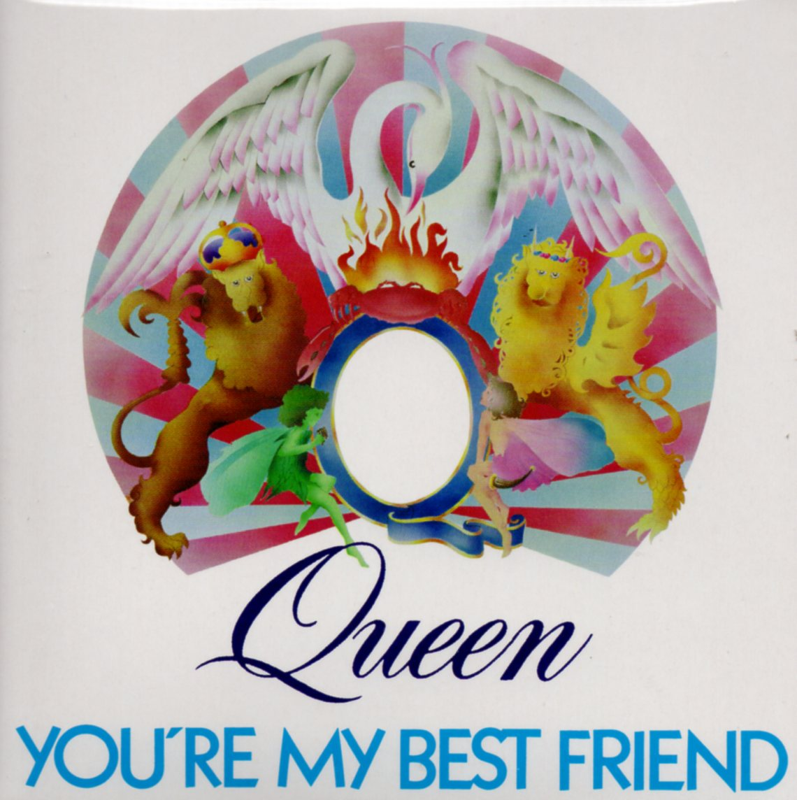 QUEEN - You're My Best Friend + Germany + 2-track Card Sleeve - Reedition Du 45t Original - - Reissue Of Ori