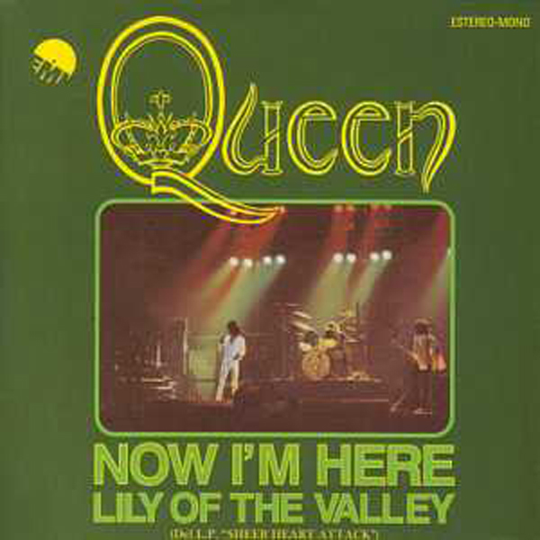 QUEEN - Now I'm Here + Spain + 2-track Card Sleeve - Reedition Du 45t Original - - Reissue Of Original 7&quo