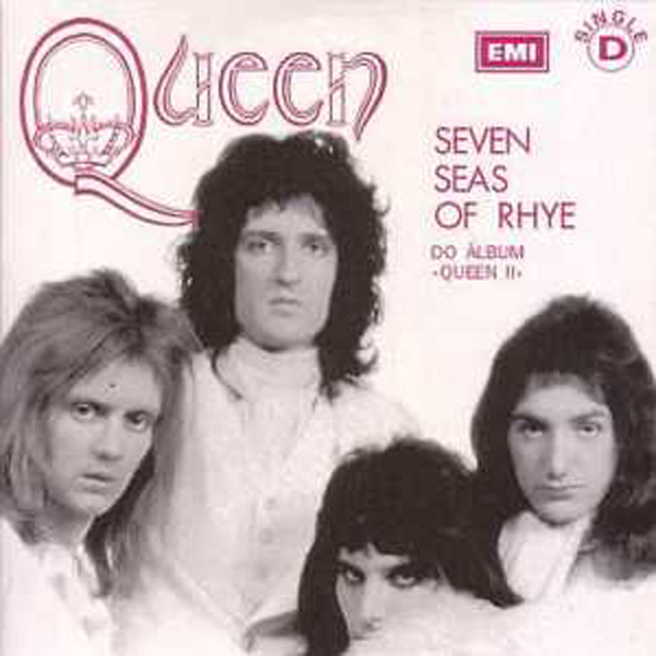 QUEEN - Seven Seas Of Rhye + Portugal + 2-track Card Sleeve - Reedition Du 45t Original - - Reissue Of Origi