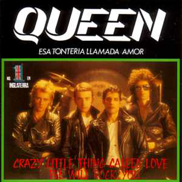 QUEEN - Crazy Little Thing Called Love + Spain + 2-track Card Sleeve - Reedition Du 45t Original - - Reissue