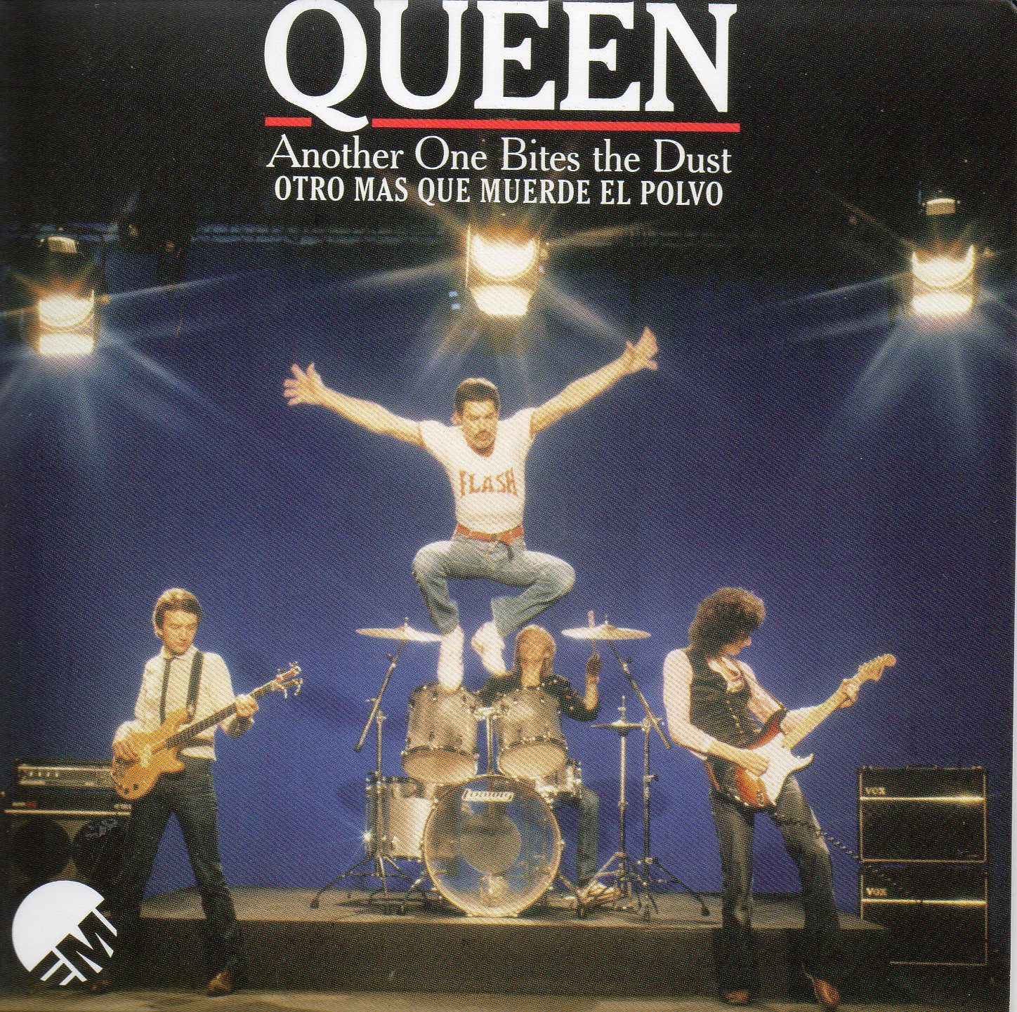 QUEEN - Another One Bites The Dust + Mexico + 2-track Card Sleeve - Reedition Du 45t Original - - Reissue Of