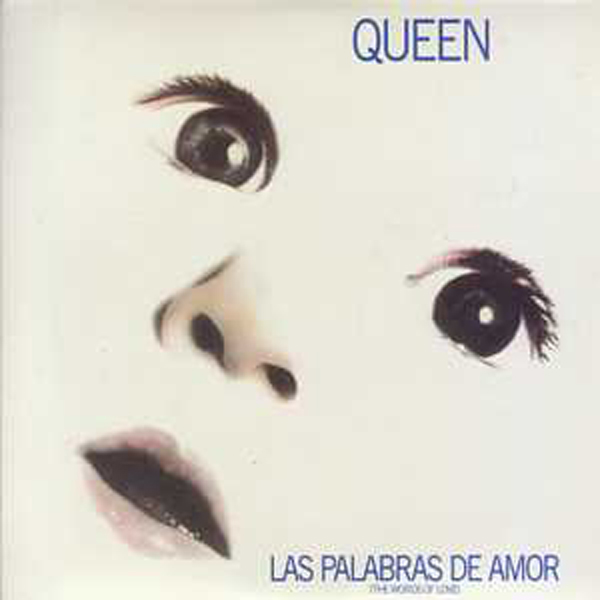 QUEEN - Las palabras de amor + UK + 2-track CARD SLEEVE - CD single