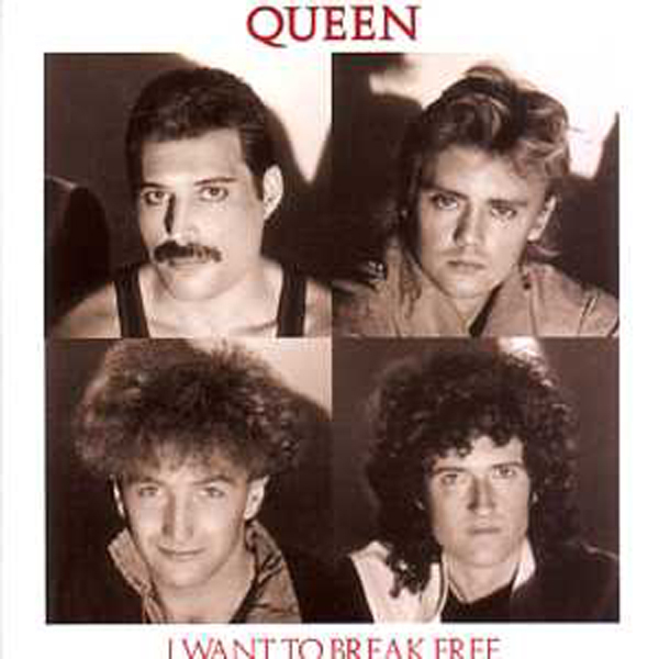 QUEEN - I Want To Break Free + Germany + 2-track Card Sleeve - Reedition Du 45t Original - - Reissue Of Orig