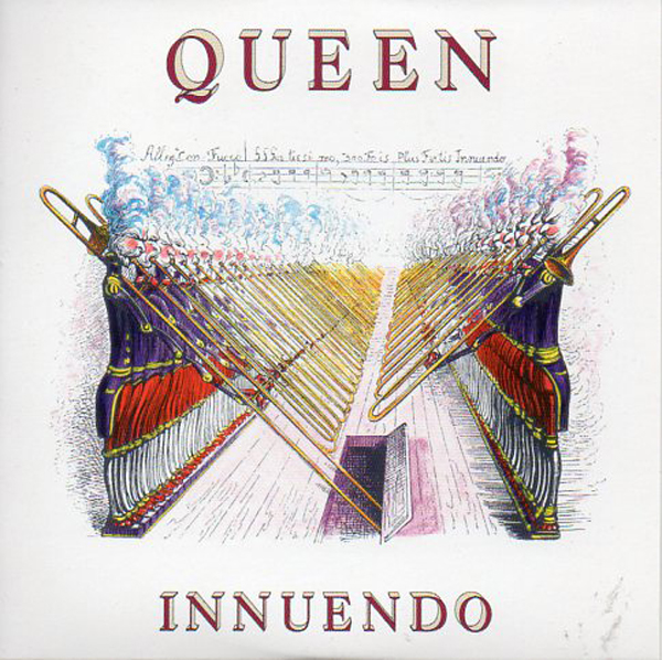 QUEEN - Innuendo + Uk + 2-track Card Sleeve - - Reedition Du 45t Original - - Reissue Of Original 7&quot;