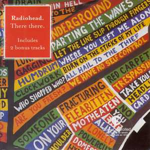 RADIOHEAD - There There 3 Tracks Card Sleeve