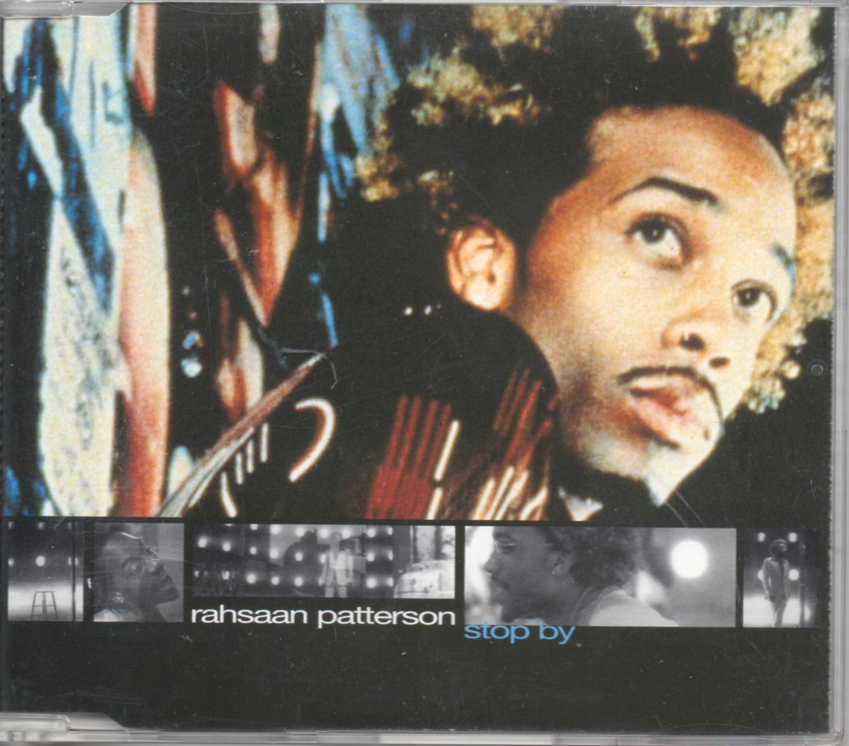 RAHSAAN PATTERSON - Stop by 4-track Jewel Case - CD Maxi