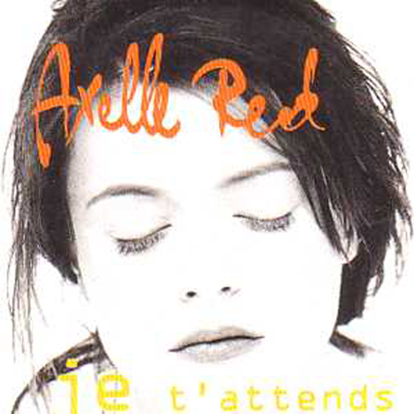 AXELLE RED - Je t'attends 2 Tracks CARD SLEEVE - CD single