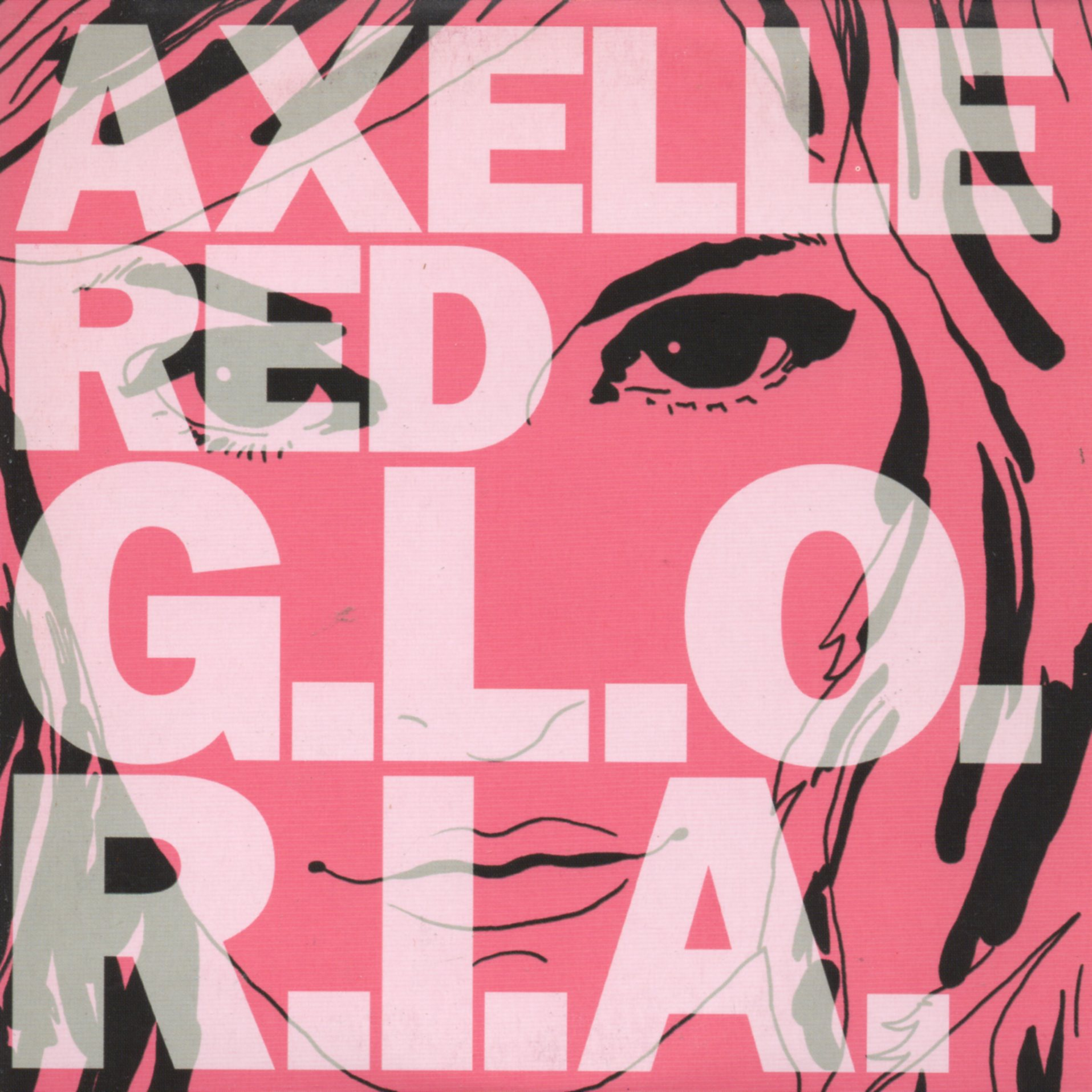 AXELLE RED - Gloria 2-Track CARD SLEEVE - CD single