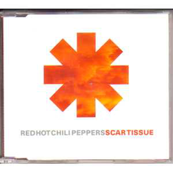 RED HOT CHILI PEPPERS - Scartissue Promo 1-track Jewel Case