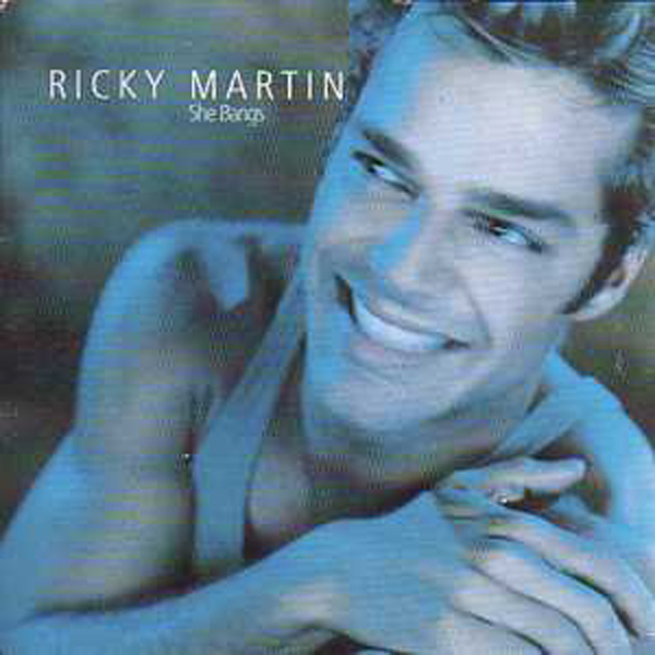 Ricky MARTIN - She Bangs 2 Tracks Card Sleeve