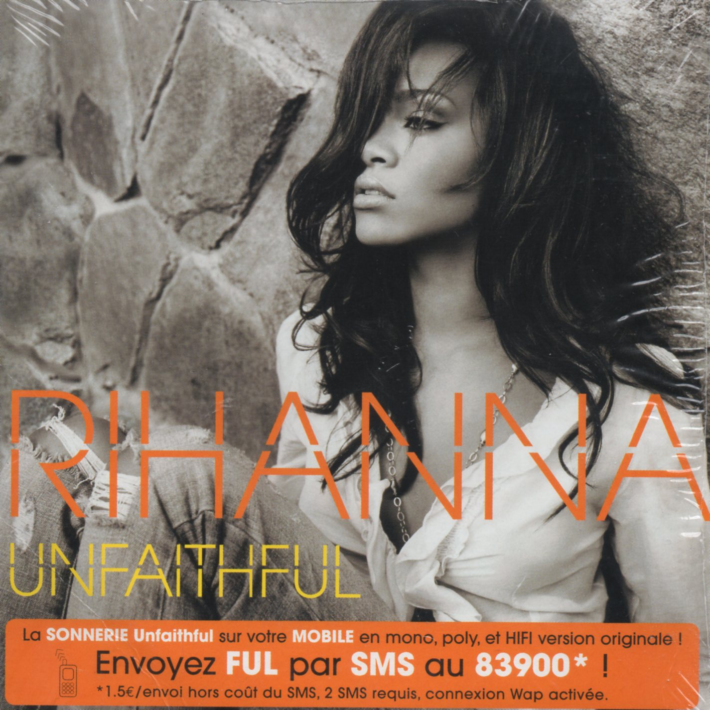 RIHANNA - Unfaithful 2-TRACK CARD SLEEVE - CD single