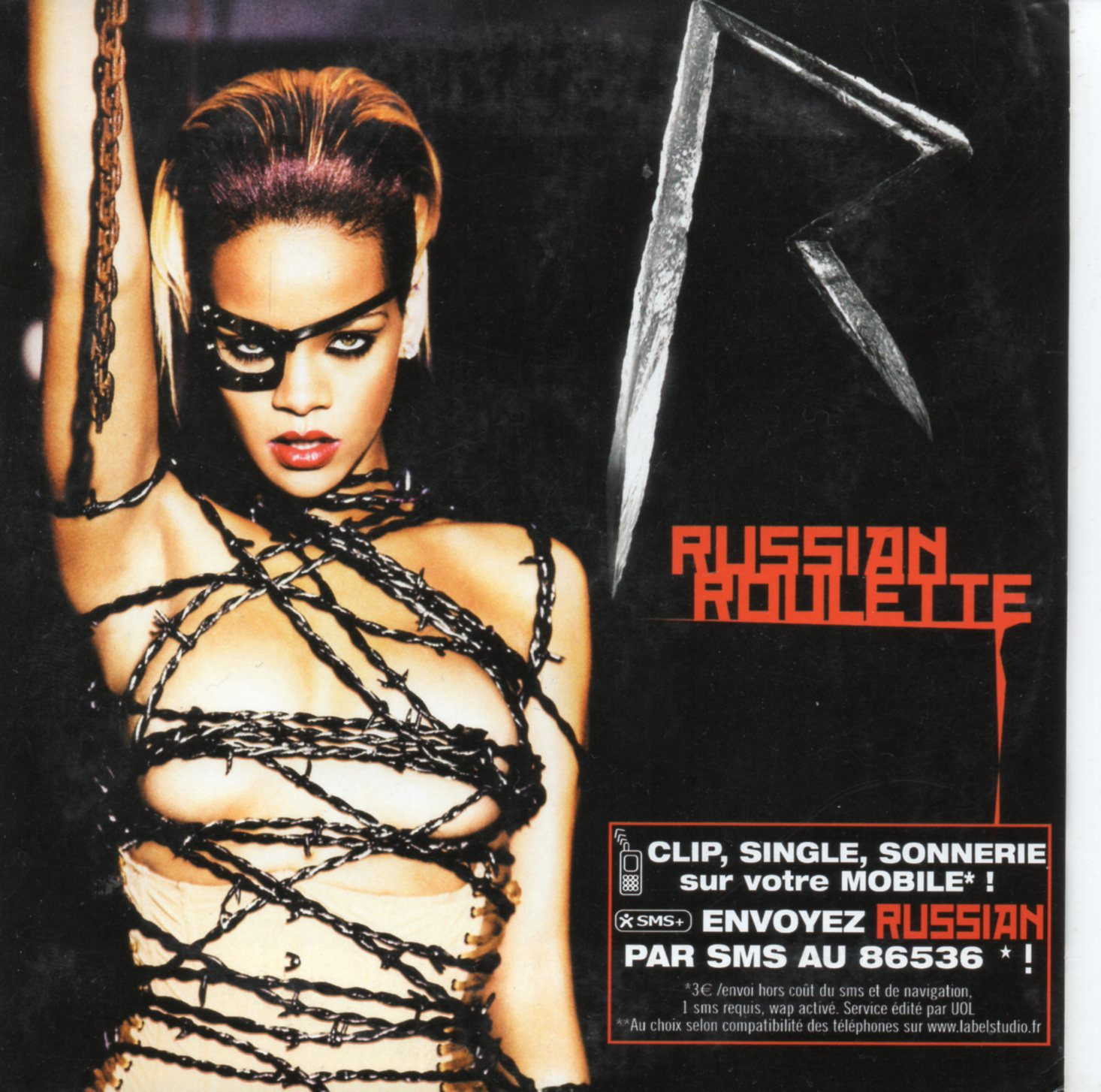 RIHANNA - Russian Roulette 2-track CARD SLEEVE - CD single