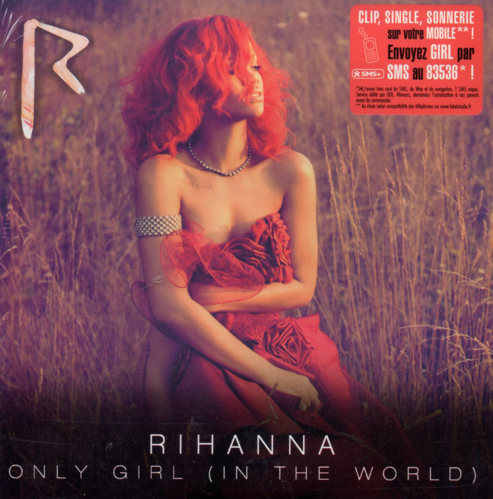 RIHANNA - Only girl 2-track CARD SLEEVE - CD single