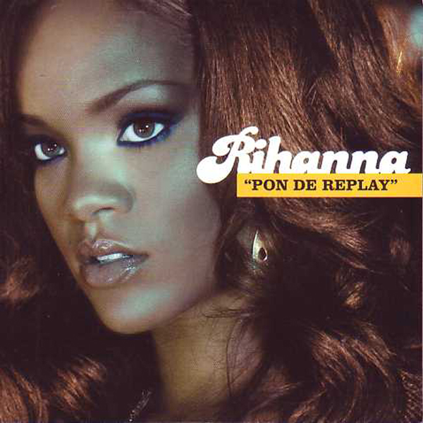 RIHANNA - Pon de replay 2-track CARD SLEEVE - CD single