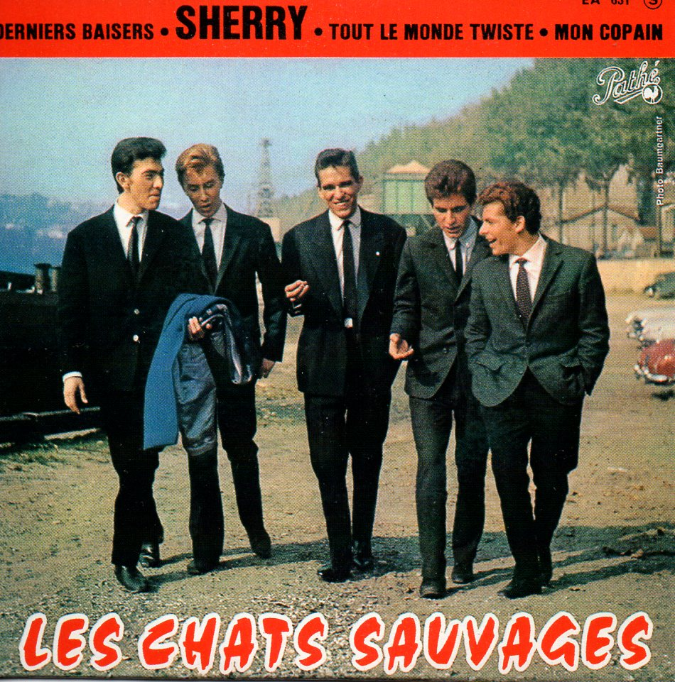 LES CHATS SAUVAGES - Sherry - EP REPLICA 4-track CARD SLEEVE - CD single