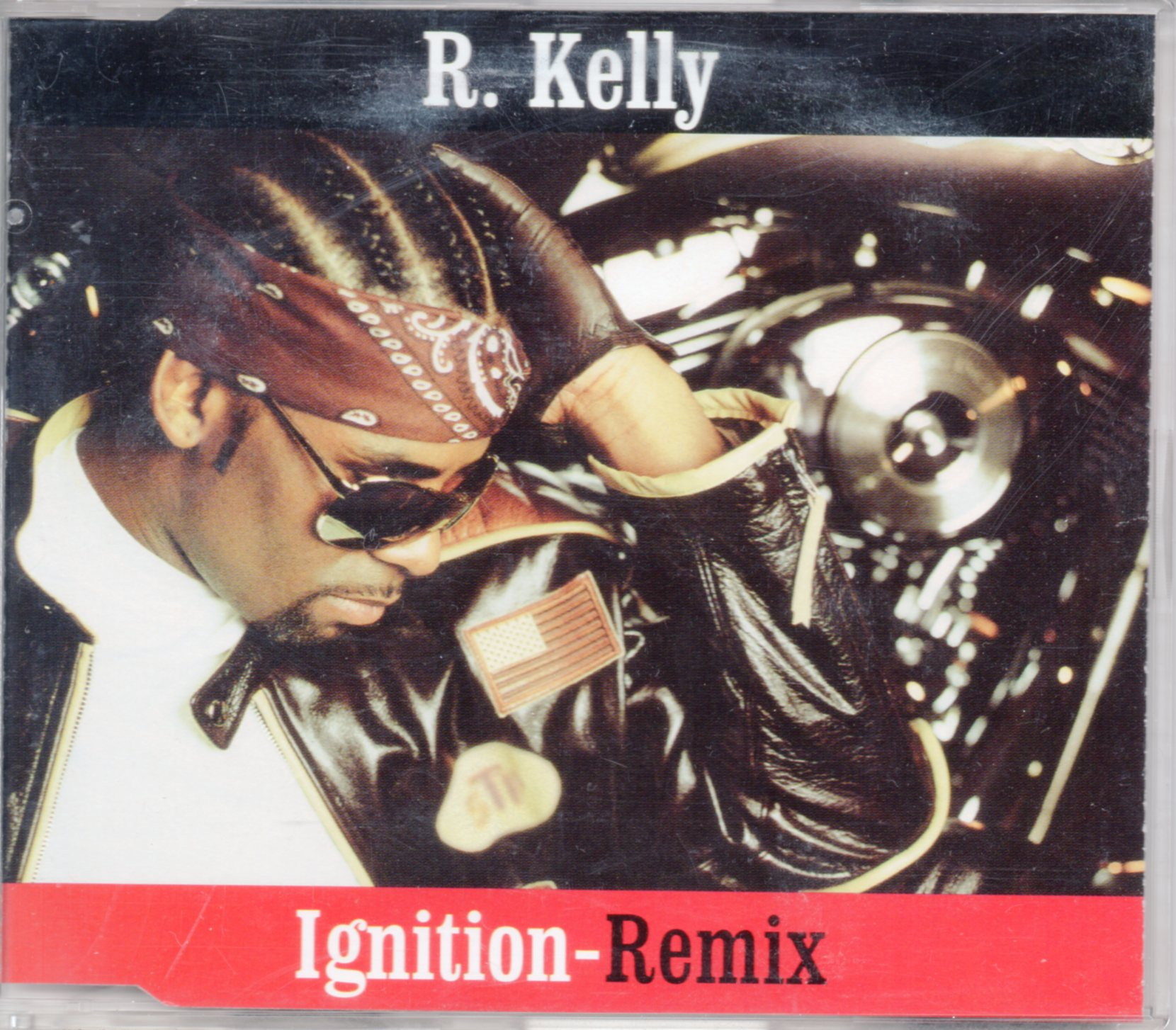 R. KELLY - Ignition Remix PROMO 2-track Jewel case - CD Maxi
