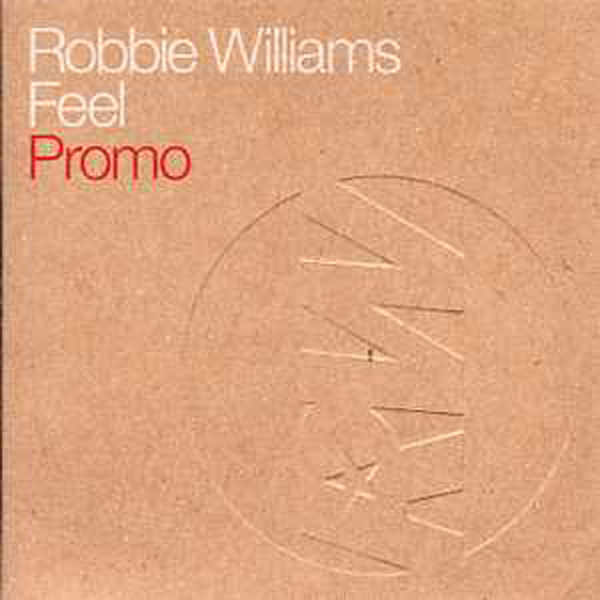 Robbie WILLIAMS - Feel Promo 2 Tracks Card Sleeve