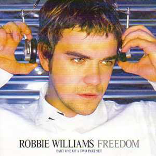 Robbie WILLIAMS - Freedom Inc Postcards 4 Tracks Jewel Case
