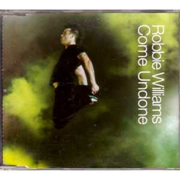 Robbie WILLIAMS - Come Undone 2 Tracks Jewel Case