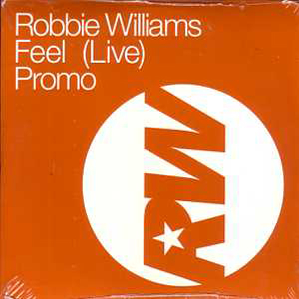 Robbie WILLIAMS - Feel Live 1-track Promo