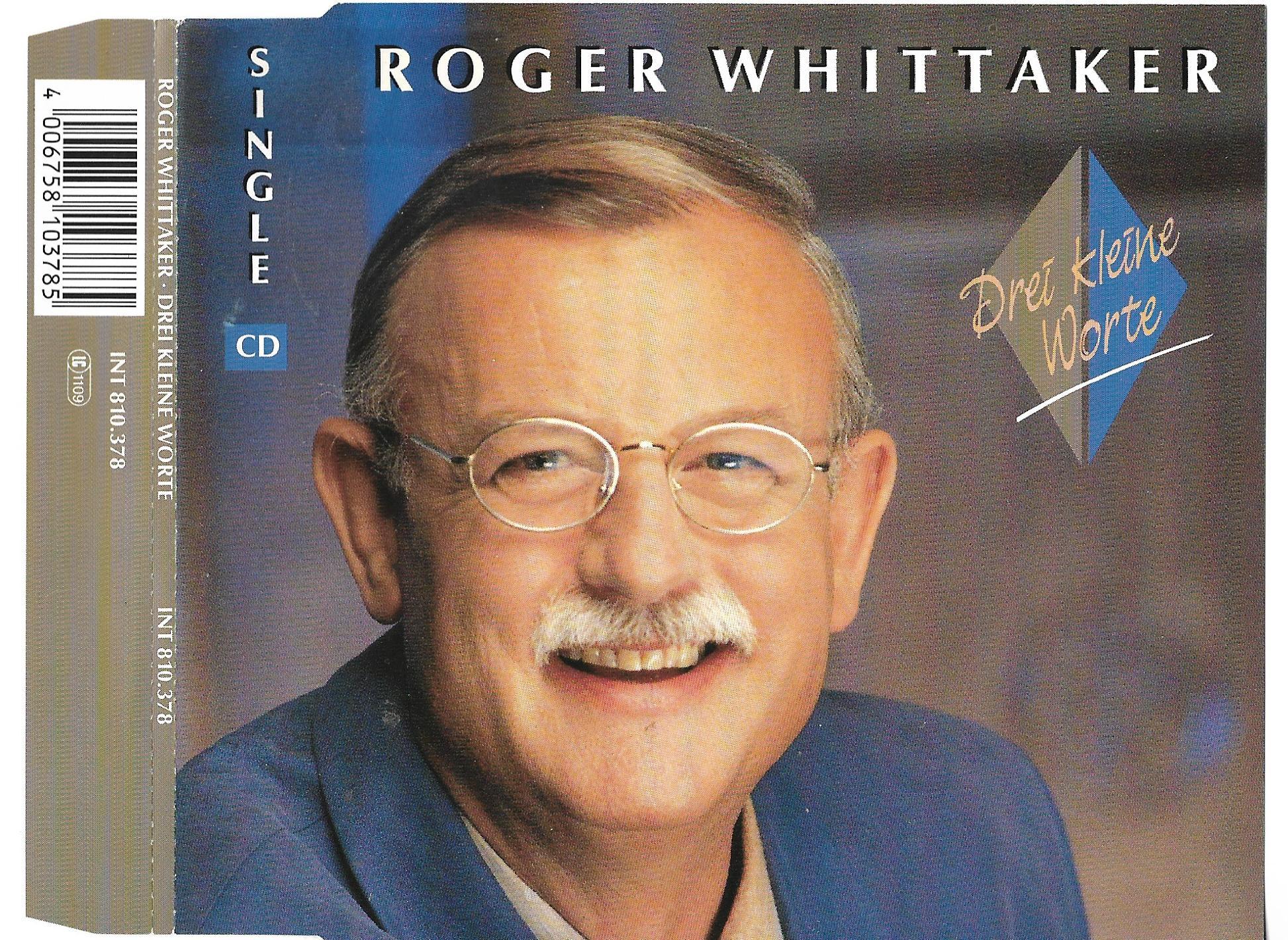 ROGER WHITTAKER - Drei Keine worte  2 tracks jewel case - MCD