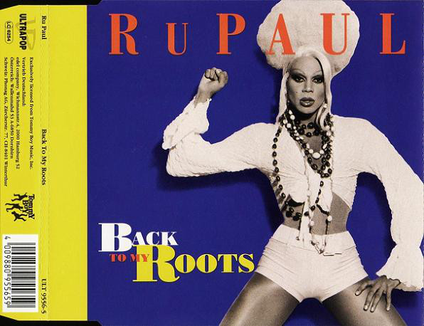 RUPAUL - Back To My Roots 4-TRACK Jewel Case - MCD